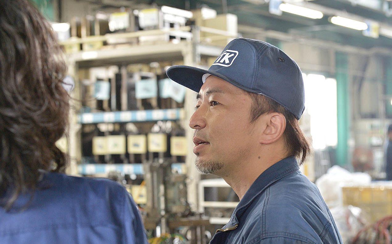 生産部 鋳造課リーダー 坂元 慎一郎